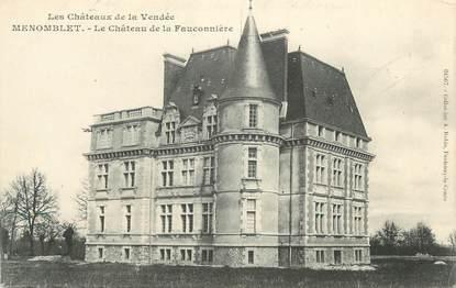 """CPA FRANCE """" Menomblet - le chateau de la Fauconnière """""""