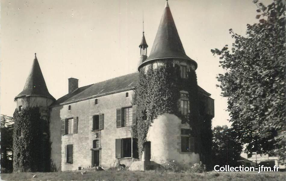 cpsm france 85 le poire sur vie le chateau de la m tairie 85 vendee autres communes 85. Black Bedroom Furniture Sets. Home Design Ideas