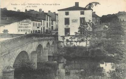 """CPA FRANCE """" Tiffauges - Le Pont sur la Sèvre et la Vallée """""""