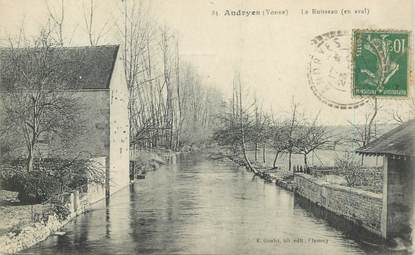 """CPA FRANCE 89 """"Andryes, le ruisseau"""""""