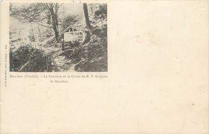 """CPA FRANCE """" Mervent - la Fontaine de la Grotte """""""