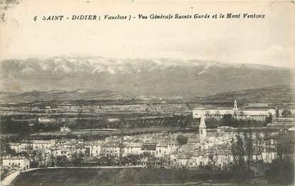 """CPA FRANCE 84 """"Saint Didier, vue générale"""""""