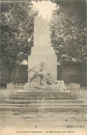"""CPA FRANCE 84 """"La Tour d'Aigues, le monument aux morts"""""""