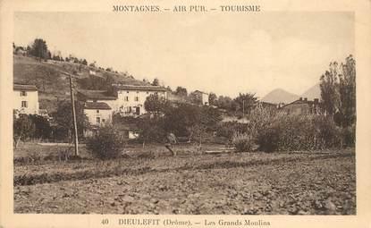 """CPA FRANCE 26 """"Dieulefit, les grands Moulins"""""""