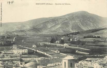 "CPA FRANCE 26 ""Dieulefit, quartier de Salaras"""