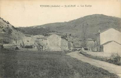 "CPA FRANCE 07 ""Viviers, Saint Alban"""