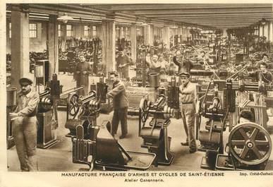 """CPSM FRANCE 42 """"Saint Etienne, Manufacture française d'Armes et cycles """""""