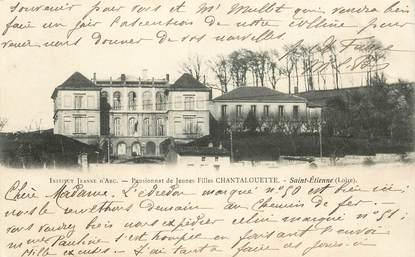 """CPA FRANCE 42 """"Saint Etienne, Institut Jeanne d'Arc"""""""