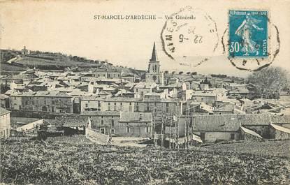 """CPA FRANCE 07 """"Saint Marcel d'Ardèche"""""""