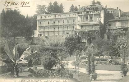 "CPA FRANCE 65 ""Argelès Gazost, Hotel de France"""