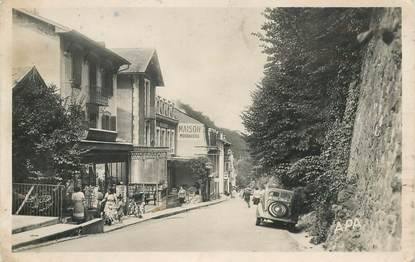 "CPA FRANCE 65 ""Capvern les Bains, rue des Thermes"""