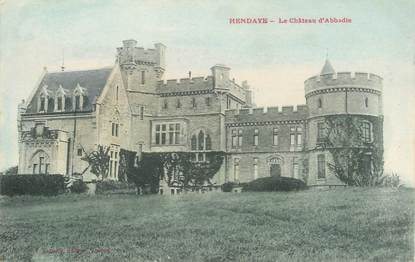 "CPA FRANCE 64 ""Hendaye, le chateau d'Abbadie"""