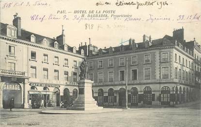 """CPA FRANCE 64 """"Pau, Hotel de la Poste"""""""