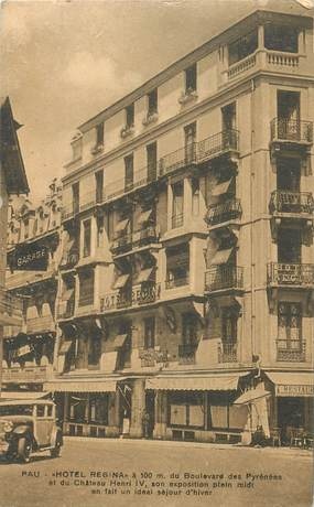 "CPA FRANCE 64 ""Pau, Hotel Régina, bld des Pyrénées"""