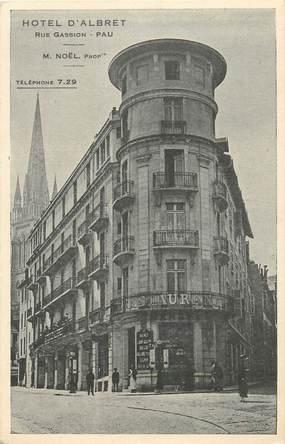 "CPA FRANCE 64 ""Pau, Hotel d'Albret, Rue Gassion"""