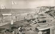 """64 PyrÉnÉe Atlantique CPSM FRANCE 64 """"Guéthary, la plage de Parlementia"""""""