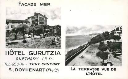 "CPSM FRANCE 64 ""Guéthary, Hotel Gurutzia"""