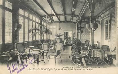 "CPA FRANCE 64 ""Salies de Béarn, Grand Hotel Bellevue"""