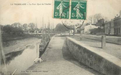 "CPA FRANCE 17 ""La Tremblade, le port"""