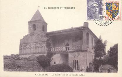 "CPA FRANCE 17 ""Chatenac, le presbytère"""