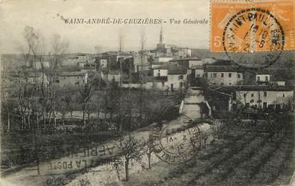 """CPA FRANCE 07 """"Saint André de Cruzières"""""""