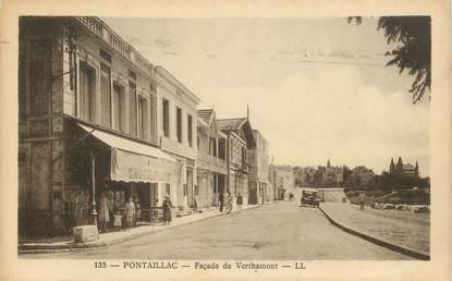 "CPA FRANCE 17 ""Pontaillac, Façade de Verthamont"""