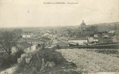 "CPA FRANCE 17 ""Saint Fort sur Gironde"""