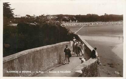 """CPSM FRANCE 17 """"Saint Georges de Didonne, corniche de Vallières"""""""