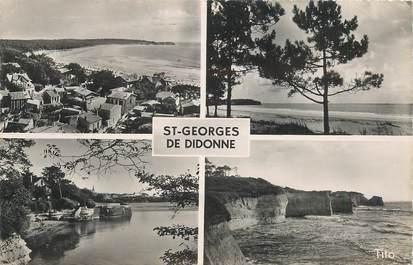 """CPSM FRANCE 17 """"Saint Georges de Didonne, la plage de Suzac"""""""