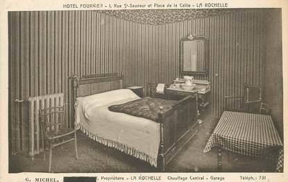 """CPA FRANCE 17 """"La Rochelle, Hotel Fournier"""""""