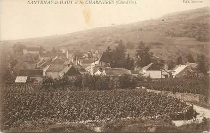"""CPA FRANCE 21 """"Santenay le Haut et les Charrières"""""""