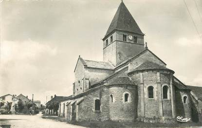 "CPSM FRANCE 21 ""Til Chatel, Eglise Saint Florent"""