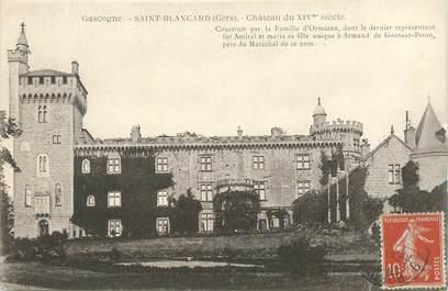 """CPA FRANCE 32 """"Chateau de Saint Blancard"""""""