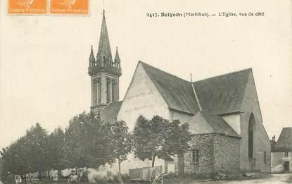 """CPA FRANCE 56 """"Beignon, l'Eglise"""""""