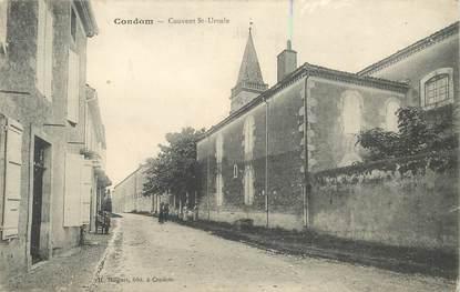 "CPA FRANCE 32 ""Condom, le couvent"""