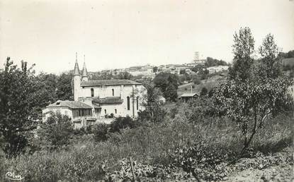 """CPSM FRANCE 32 """"Lectoure, Abbaye"""""""