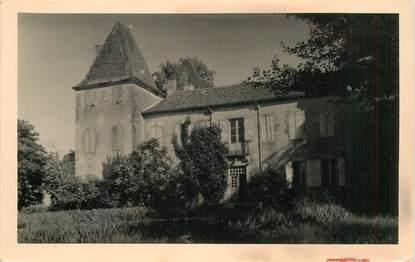"CPSM FRANCE 32 ""Lupiac, Chateau de Caste Imore"""