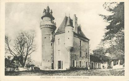 """CPA FRANCE 32 """"Vic Fezensac, Chateau de Gimat"""""""