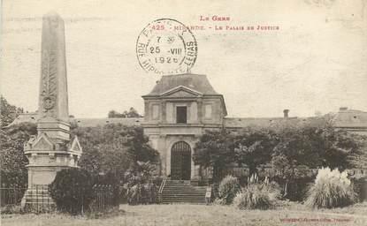 """CPA FRANCE 32 """"Mirande, le palais de justice"""""""