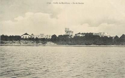"CPA FRANCE 56 ""Golfe du Morbihan, Ile de Berder"""