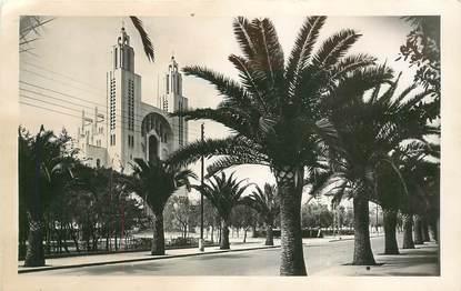 """CPSM MAROC """"Casablanca, Eglise du Sacré Coeur"""""""