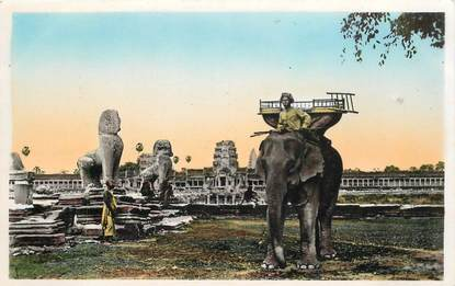 CPSM CAMBODGE / ELEPHANT