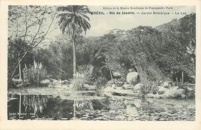 """CPA BRESIL """"Rio de Janeiro, le jardin botanique"""""""