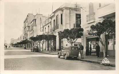 "CPSM ALGERIE ""Mostaganem, avenue Anatole France"""