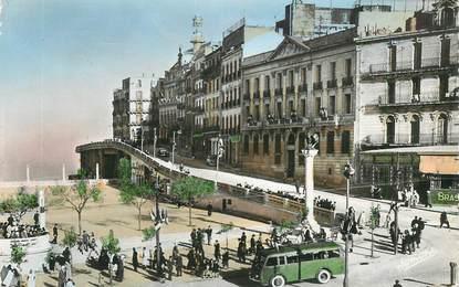 """CPSM ALGERIE """"Constantine, place du Gal Leclerc"""""""