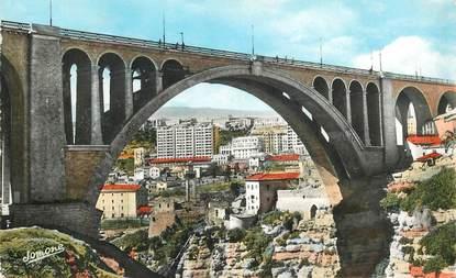 """CPSM ALGERIE """"Constantine, pont Sidi Rached"""""""