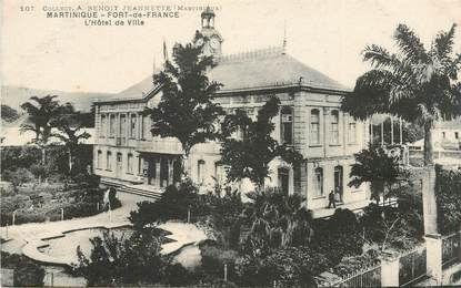 "CPA MARTINIQUE ""Fort de France, Hotel de ville"""