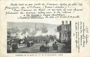 """Martinique CPA MARTINIQUE """"Incendie de la nuit du 1er au 2 novembre 1902"""""""