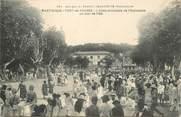 """Martinique CPA MARTINIQUE """"Fort de France, l'allée principale de l'Esplanade, un jour de fête"""""""