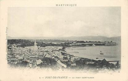 "CPA MARTINIQUE ""Fort de France, le Fort Saint Louis"""